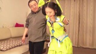 Sun Shang Xiang (孙尚香-王者荣耀)Chinese cosplay bondage part 2