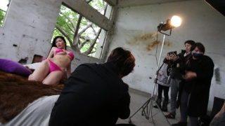 [OURSHDTV]Anri Okita music video shooting with Taiwanese rapper Kumachan